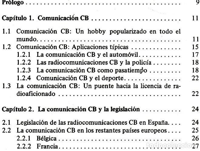Radios antiguas: RADIO. COMUNICACIONES POR CB. BANDA CIUDADANA. STRATIS KARAMANOLIS. MARCOMBO 1983. - Foto 10 - 278446358