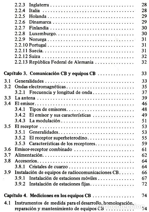 Radios antiguas: RADIO. COMUNICACIONES POR CB. BANDA CIUDADANA. STRATIS KARAMANOLIS. MARCOMBO 1983. - Foto 11 - 278446358