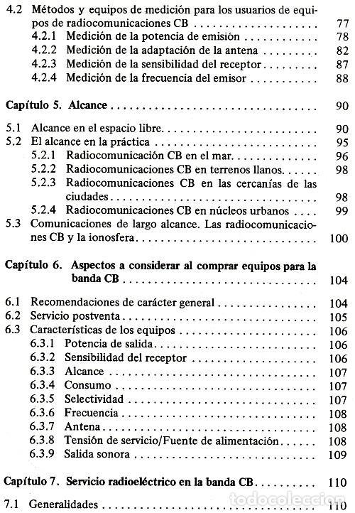 Radios antiguas: RADIO. COMUNICACIONES POR CB. BANDA CIUDADANA. STRATIS KARAMANOLIS. MARCOMBO 1983. - Foto 12 - 278446358