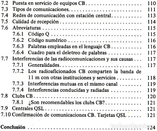 Radios antiguas: RADIO. COMUNICACIONES POR CB. BANDA CIUDADANA. STRATIS KARAMANOLIS. MARCOMBO 1983. - Foto 13 - 278446358