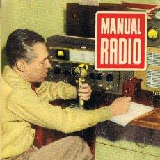 Radios antiguas: MANUAL RADIO Nº 5, MARZO DE 1953, 105 PÁGINAS MÁS ALGUNOS ANUNCIOS. Lote 282048498