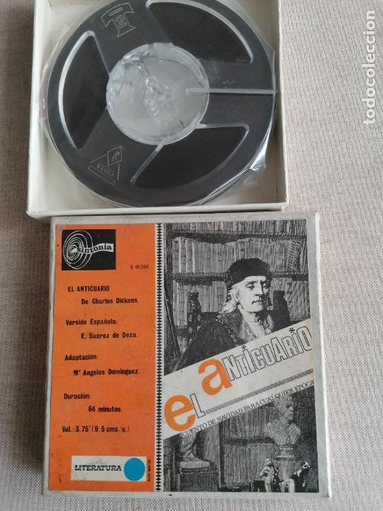 Radios antiguas: LOTE 7 CINTAS MAGNETOFONICAS 3 3/4 la mayoria prrecintadas. ver fotos. GOYA, EL GRECO - Foto 2 - 287689993
