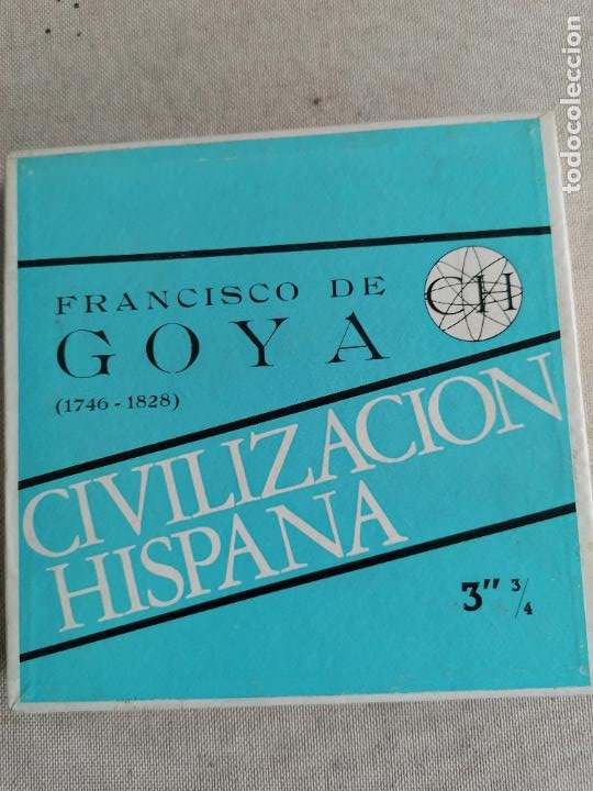 Radios antiguas: LOTE 7 CINTAS MAGNETOFONICAS 3 3/4 la mayoria prrecintadas. ver fotos. GOYA, EL GRECO - Foto 3 - 287689993