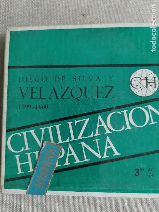 Radios antiguas: LOTE 7 CINTAS MAGNETOFONICAS 3 3/4 la mayoria prrecintadas. ver fotos. GOYA, EL GRECO - Foto 8 - 287689993