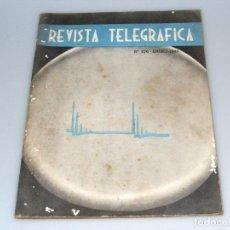 Radios antiguas: REVISTA TELEGRÁFICA - ARGENTINA - Nº376 - ENERO 1944 - VER DESCRIPCIÓN Y FOTOS.. Lote 288317338