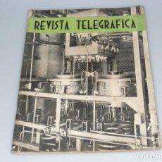 Radios antiguas: REVISTA TELEGRÁFICA - ARGENTINA - Nº378 - MARZO 1944 - VER DESCRIPCIÓN Y FOTOS.. Lote 288319073