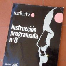 Rádios antigos: CUADERNO NÚMERO 8 DE EVALUACIÓN DE CURSO DE RADIO AFHA.... SANNA. Lote 293607528
