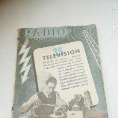 Radios antiguas: RADIO ENCICLOPEDIA Nº 35. ESTACIONES EMISORAS. EDITORIAL BRUGUERA. SUBIDO ÍNDICE. 1º ED 1946. VER. Lote 293698433