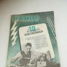 Radios antiguas: RADIO ENCICLOPEDIA Nº 10. ESTACIONES EMISORAS. EDITORIAL BRUGUERA. SUBIDO ÍNDICE. 1º ED 1944. VER. Lote 293698863