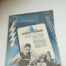 Radios antiguas: RADIO ENCICLOPEDIA Nº 9. ESTACIONES EMISORAS. EDITORIAL BRUGUERA. SUBIDO ÍNDICE. 1º ED 1944. VER. Lote 293698903