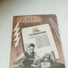 Radios antiguas: RADIO ENCICLOPEDIA Nº 15. ESTACIONES EMISORAS. EDITORIAL BRUGUERA. SUBIDO ÍNDICE. 1º ED 1945. VER. Lote 293699063