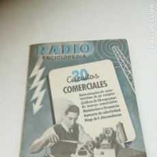 Radios antiguas: RADIO ENCICLOPEDIA Nº 30. ESTACIONES EMISORAS. EDITORIAL BRUGUERA. SUBIDO ÍNDICE. 1º ED 1946. VER. Lote 293699408