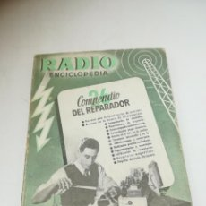 Radios antiguas: RADIO ENCICLOPEDIA Nº 26. ESTACIONES EMISORAS. EDITORIAL BRUGUERA. SUBIDO ÍNDICE. 1º ED 1946. VER. Lote 293699688