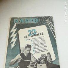Radios antiguas: RADIO ENCICLOPEDIA Nº 23. ESTACIONES EMISORAS. EDITORIAL BRUGUERA. SUBIDO ÍNDICE. 1º ED 1945. VER. Lote 293699813