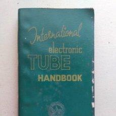 Radios antiguas: INTERNATIONAL ELECTRONIC TUBE AND TRANSISTOR HANDBOOK - 4ª EDIC RADIO BULLETIN (HOLANDA). Lote 296952113