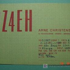 Radios antiguas: 2123 DINAMARCA DENMARK QSL CARD - TARJETA RADIOAFICIONADO - AÑO 1951 MAS EN COSAS&CURIOSAS. Lote 5859890