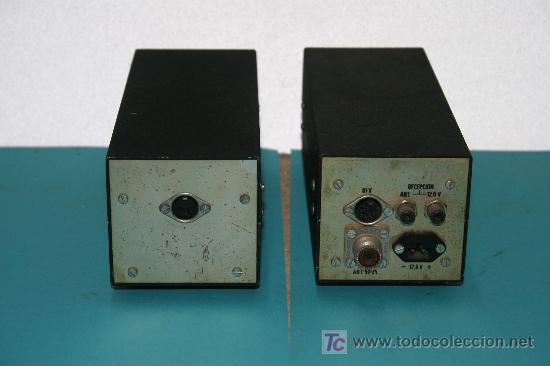 Radios antiguas: transmisor y o.f.v. - Foto 2 - 7359671