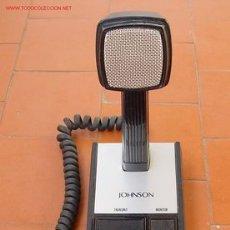Radios antiguas: MICROFONO DE SOBREMESA JHONSON..SANNA. Lote 14918189