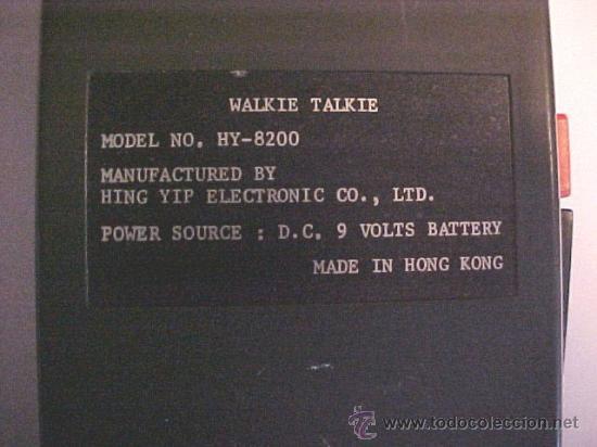 Radios antiguas: radios juguete walkie talkie - Foto 2 - 26640941