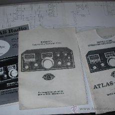 Radios antiguas: DOCUMENTACION ORIGINAL VARIADA (MANUAL, ESQUEMA, ETC...) ATLAS RADIO 210. Lote 25344946