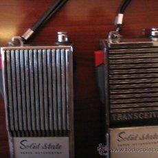 Radios antiguas: WALKIE-TALKIE METALICOS MARCA SKYFON. Lote 27991174
