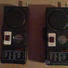 Radios antiguas: &MITICOS-TRANSISTORES(WALKIE-TALKIE).AÑO 1975/FABRICADO EN ALEMANIA.. Lote 30311688