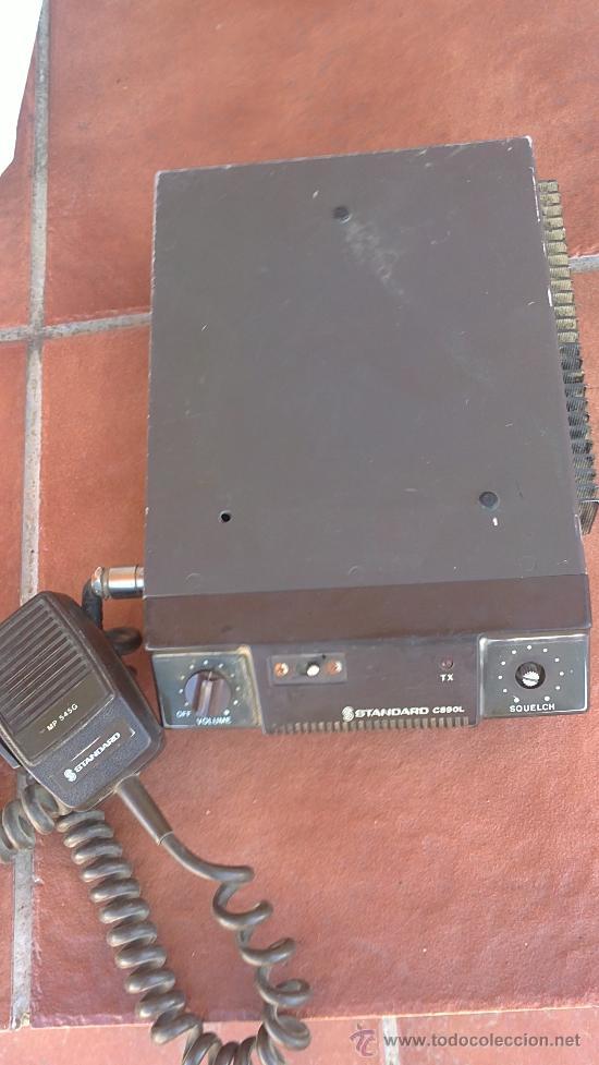 &-EMISORA -STANDARD C 890L--(STANDARD COMMUNICATIONS CORP) (Radios, Gramófonos, Grabadoras y Otros - Radioaficionados)