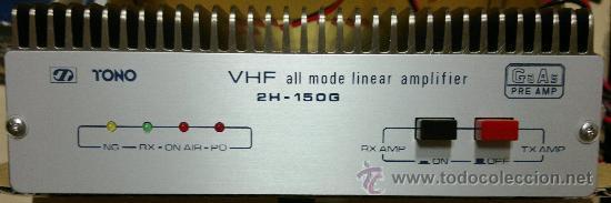 AMPLIFICADOR DE EMISORA PARA VEHICULO - TONO 2H 150G 2M VHF 150 WATT (Radios, Gramófonos, Grabadoras y Otros - Radioaficionados)