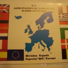 Radios antiguas: 1 TARJETA - POSTAL - EQUIPO RADIO AFICCIONADO - USB - QSO - QSL RADIOAFICCIONADO . Lote 32308389