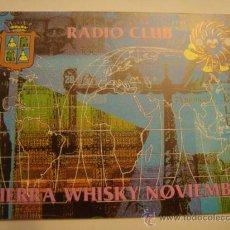 Radios antiguas: 1 TARJETA - POSTAL - EQUIPO RADIO AFICCIONADO - USB - QSO - QSL RADIOAFICCIONADO . Lote 32308438