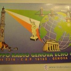 Radios antiguas: 1 TARJETA - POSTAL - EQUIPO RADIO AFICCIONADO - USB - QSO - QSL RADIOAFICCIONADO . Lote 32308570