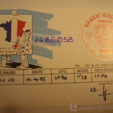 Radios antiguas: 1 TARJETA - POSTAL - EQUIPO RADIO AFICCIONADO - USB - QSO - QSL RADIOAFICCIONADO . Lote 32308860