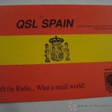 Radios antiguas: 1 TARJETA - POSTAL - EQUIPO RADIO AFICCIONADO - USB - QSO - QSL RADIOAFICCIONADO . Lote 32306054