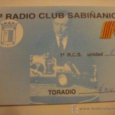 Radios antiguas: 1 TARJETA - POSTAL - EQUIPO RADIO AFICCIONADO - USB - QSO - QSL RADIOAFICCIONADO . Lote 32307893