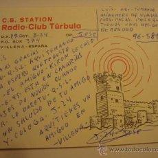 Radios antiguas: 1 TARJETA - POSTAL - EQUIPO RADIO AFICCIONADO - USB - QSO - QSL RADIOAFICCIONADO . Lote 32307993