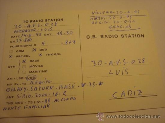 Radios antiguas: 1 tarjeta - postal - equipo radio aficcionado - usb - qso - qsl radioaficcionado - Foto 2 - 32307993