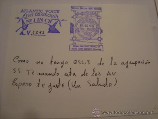 Radios antiguas: 1 tarjeta - postal - equipo radio aficcionado - usb - qso - qsl radioaficcionado - Foto 2 - 32307820