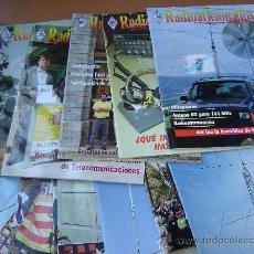 Radios antiguas: REVISTAS RADIOAFICIONADOS - 2005 AÑO COMPLETO. Lote 32432428