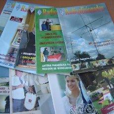 Radios antiguas: REVISTAS RADIOAFICIONADOS - 2004 AÑO COMPLETO. Lote 32432453
