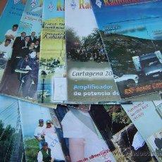 Radios antiguas: REVISTAS RADIOAFICIONADOS - 2002 AÑO COMPLETO. Lote 32432489