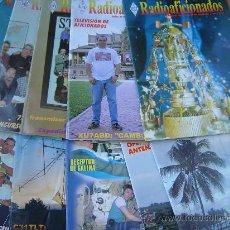 Radios antiguas: REVISTAS RADIOAFICIONADOS - 2001 AÑO COMPLETO. Lote 32432515