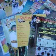 Radios antiguas: REVISTAS RADIOAFICIONADOS - 1999 AÑO COMPLETO. Lote 32450212