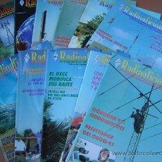 Radios antiguas: REVISTAS RADIOAFICIONADOS - 1998 AÑO COMPLETO. Lote 32450247