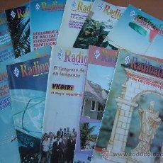 Radios antiguas: REVISTAS RADIOAFICIONADOS - 1997 AÑO COMPLETO. Lote 32450272