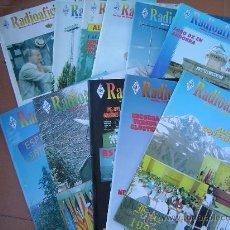 Radios antiguas: REVISTAS RADIOAFICIONADOS - 1996 AÑO COMPLETO. Lote 32450307