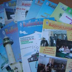 Radios antiguas: REVISTAS RADIOAFICIONADOS - 1995 AÑO COMPLETO. Lote 32450728