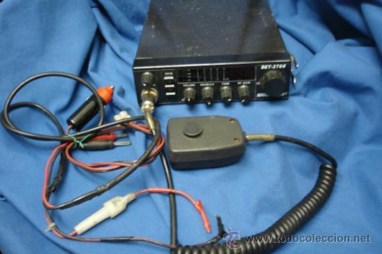 EMISORA BRIGMTON DE 27 MHZ MDLO. BET - 2700 - AM / FM - 40 CANALES (Radios, Gramófonos, Grabadoras y Otros - Radioaficionados)