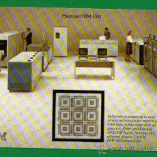 Radios antiguas: TARJETA DE RADIOAFICIONADOS - PROCESADOR IBM 4341 - IBM CLUBS - AÑO 1979 - BIEN CONSERVADA. Lote 38154567