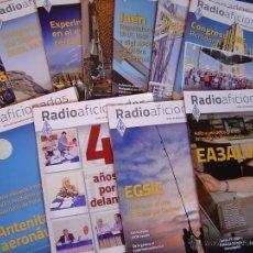 Radios antiguas: REVISTAS RADIOAFICIONADOS - 2012 AÑO COMPLETO. Lote 34525152