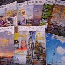 Radios antiguas: REVISTAS RADIOAFICIONADOS - 2013 AÑO COMPLETO. Lote 40792491